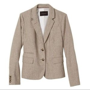 Banana Republic Tweed Academy Blazer